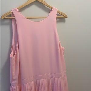 Banana Republic Pink Lined Dress